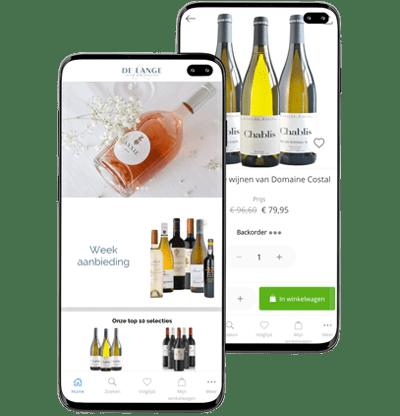 b2b ordering app wines