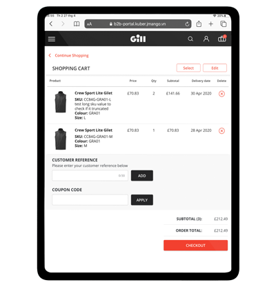 bigcommerce b2b mobile app