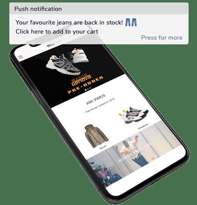 push notifications pwa ecommerce