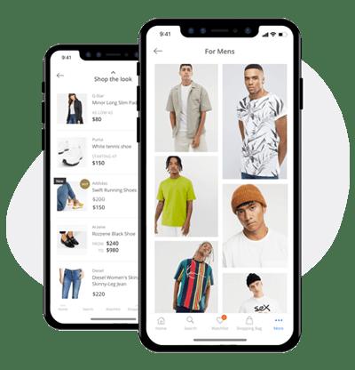 magazine like lookbooks app feature in ecommerce apps