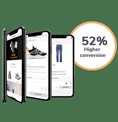 ecommerce app seamless