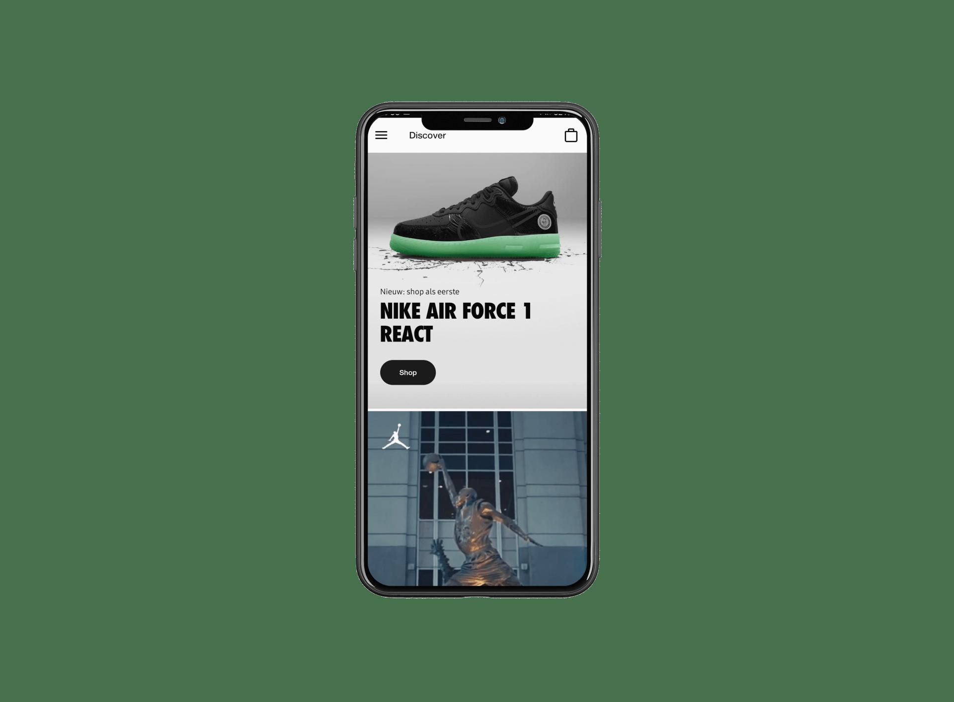 ecommerce app nike