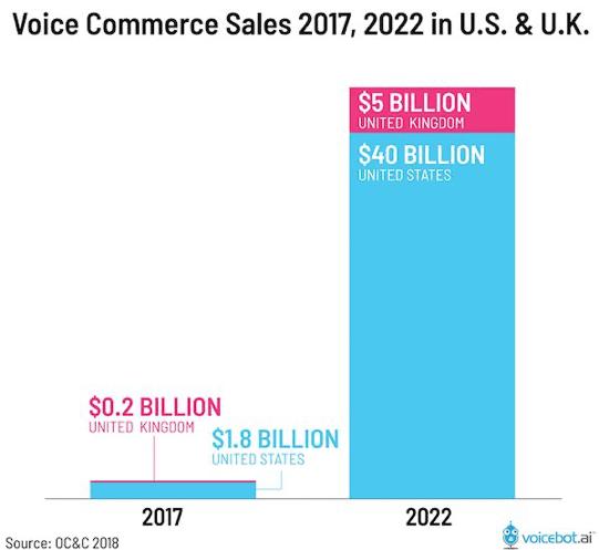 Voice commerce sales statistics